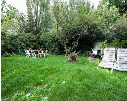 Our spacious and sunny garden